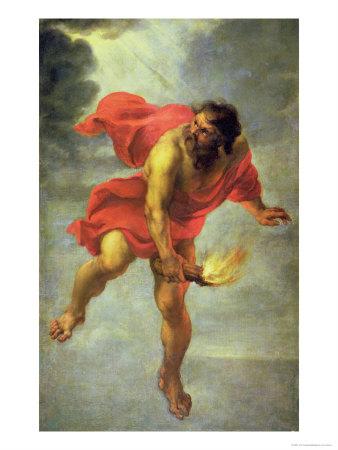 دیرینگونهی اسطورهی پرومتئوس