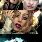 لیدی گاگا در موزیک ویدئوی یهودا