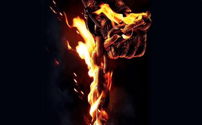 به بند کشیده شدن در آتش